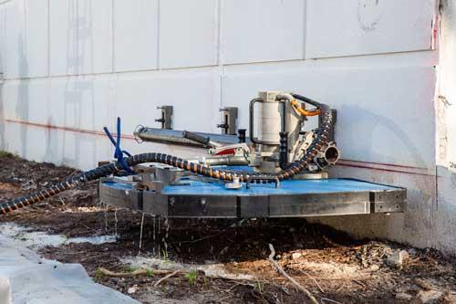 Wildcat concrete wall cutter