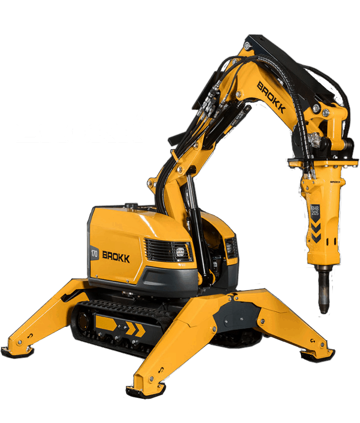 Wildcat Renovation Brokk 170 demolition robot